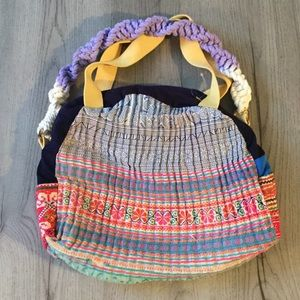 New FP Tricia Fix Day Tripper Embroidered Tote